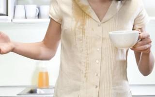 Как вывести пятно от чая, действенные способы
