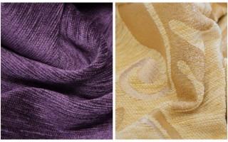 Ткань шенилл — что это такое, описание, свойства и состав