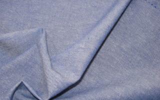 Что такое ткань Шамбре — свойства, описание и применение