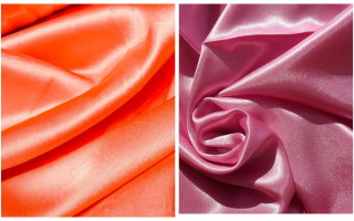 Ткань креп сатин: описание, применение и виды