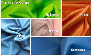 Ткань полиэстер (ПЭ), что это: состав, свойства, применение