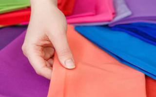 Как определить долевую нить на ткани при растяжении