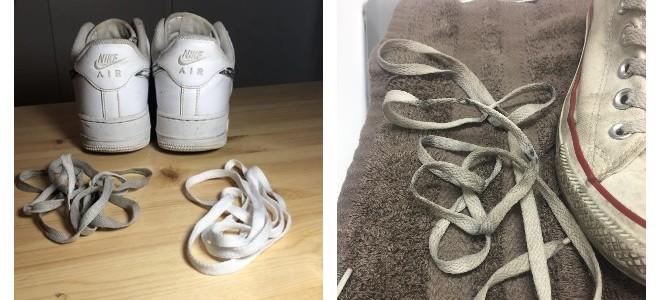 Как отмыть белые шнурки в домашних условиях — 10 способов