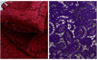 Что такое гипюр, виды ткани, состав и отличие от кружева