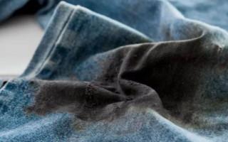 Как вывести пятно от машинного масла на одежде, топ способов