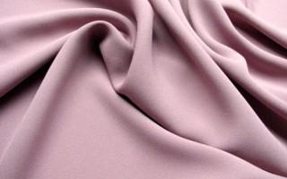 Ткань крепдешин, её применение, виды состав и уход