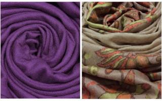 Пашмина что это за ткань: описание, состав и применение