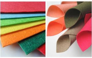 Фетр — что это за ткань: виды, применение и описание