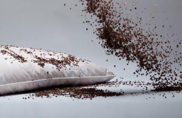 Подушка и гречка