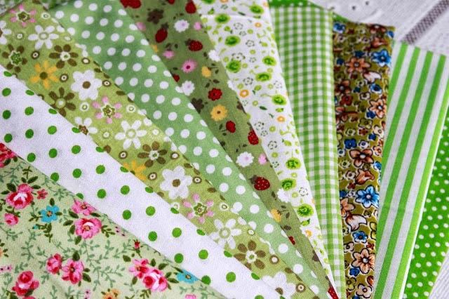 Ситцевая ткань в разных расцветках