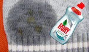 Фери и пятно на свитере
