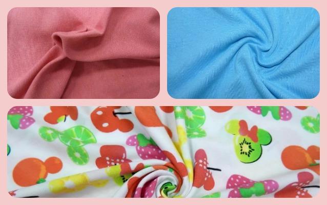 Образцы материала в разных цветах