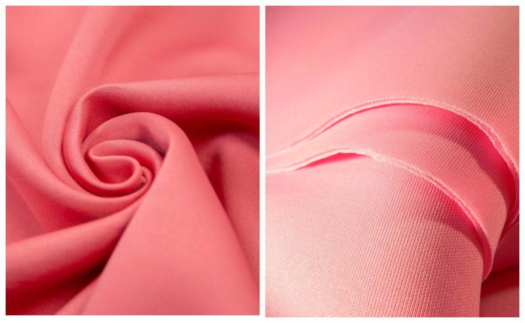 Ткань неопрен в розовом цвете