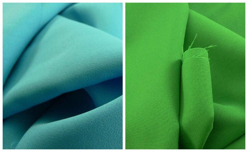 Ткань габардин бирюзовый цвет