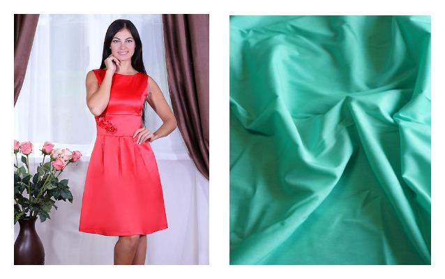 Ткань и платье