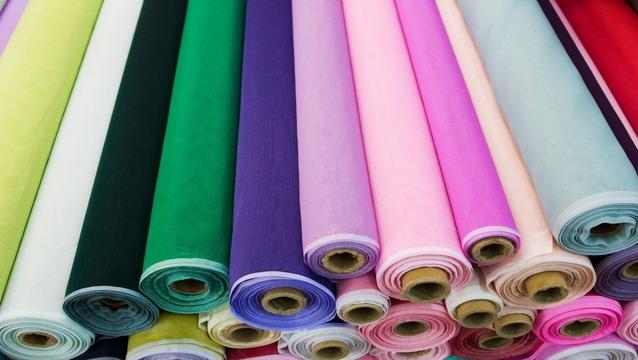 Атласная ткань в рулонах