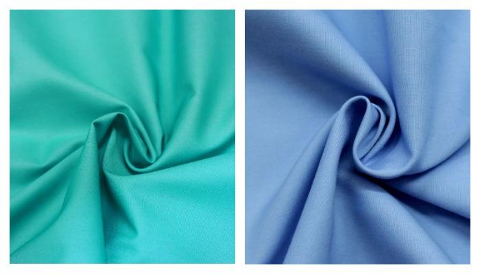 Смешанная ткань в двух цветах