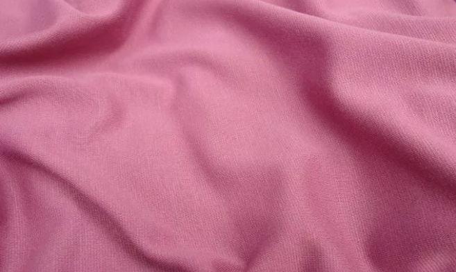 Трикотаж французский грязно-розового цвета