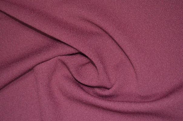 Костюмный креп темно-розовый