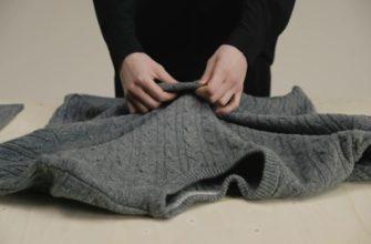 Чистка шерстяного свитера