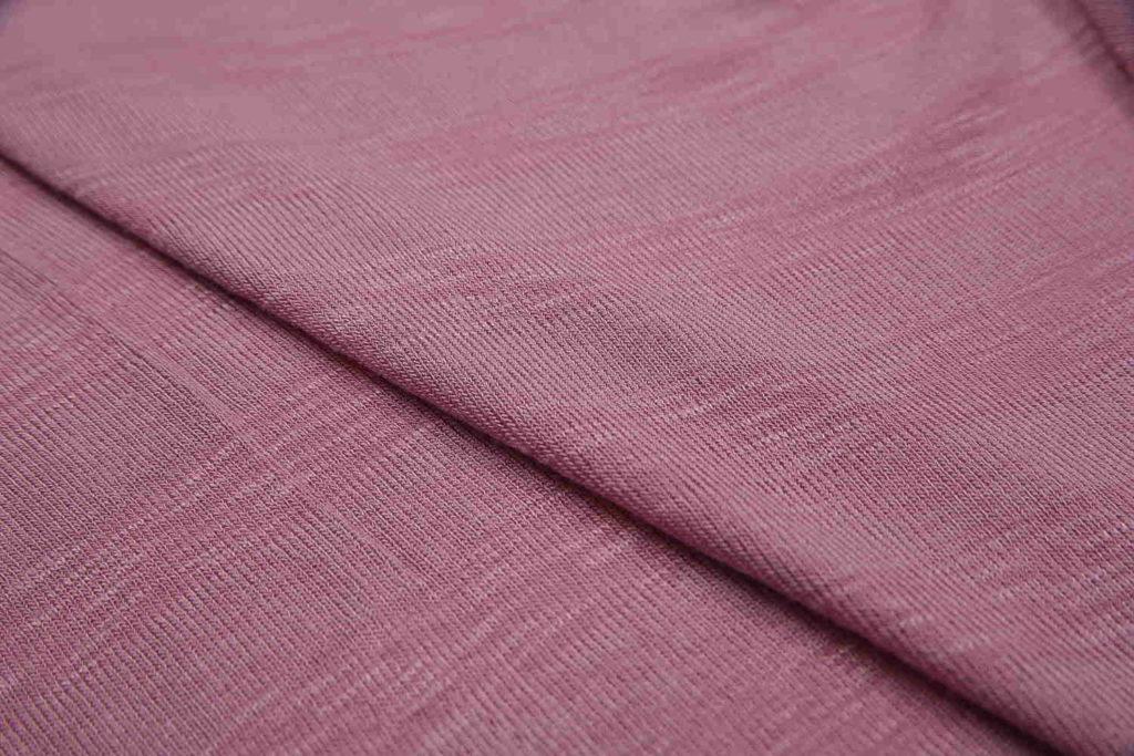 Ткань модал сиреневого цвета