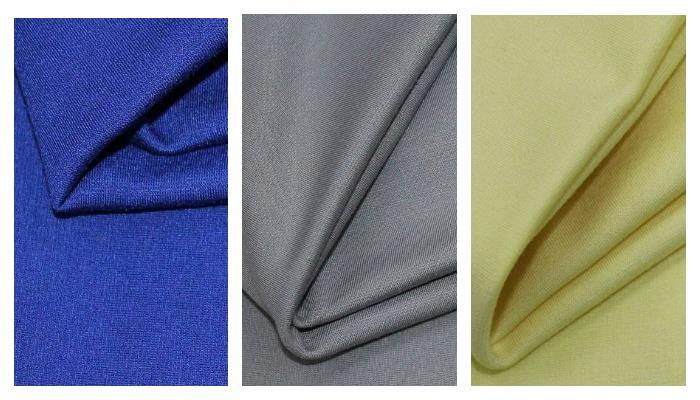 Ткань в трех цветах