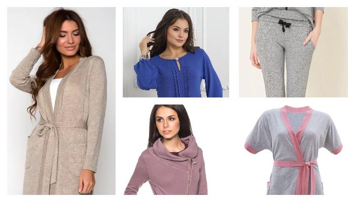 Виды изделий одежды из трикотажа