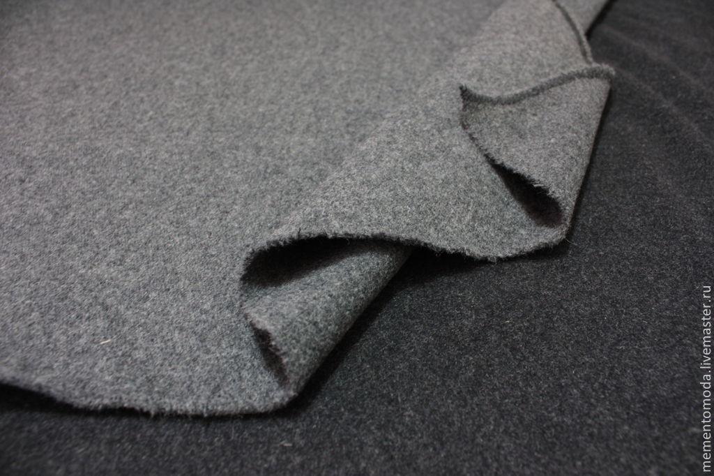 Ткань кашемир серого цвета
