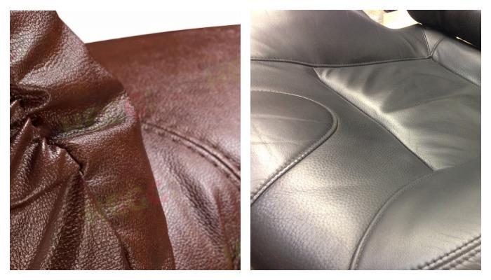 Кожаные сидения
