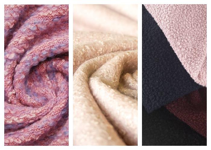 Виды буклированой ткани