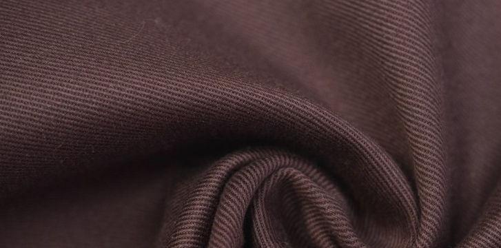 Ткань твил коричневого цвета