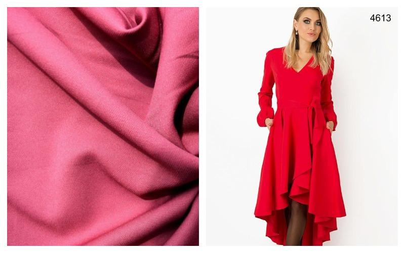 Ткань креп костюмка и платье из нее