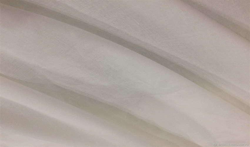 Ткань батист однотонный