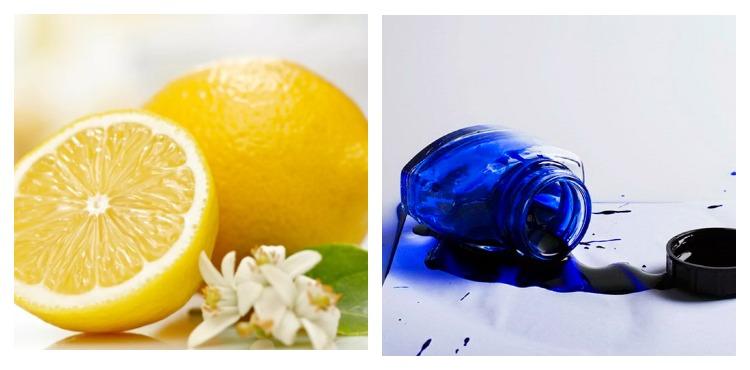 Лимон и чернила
