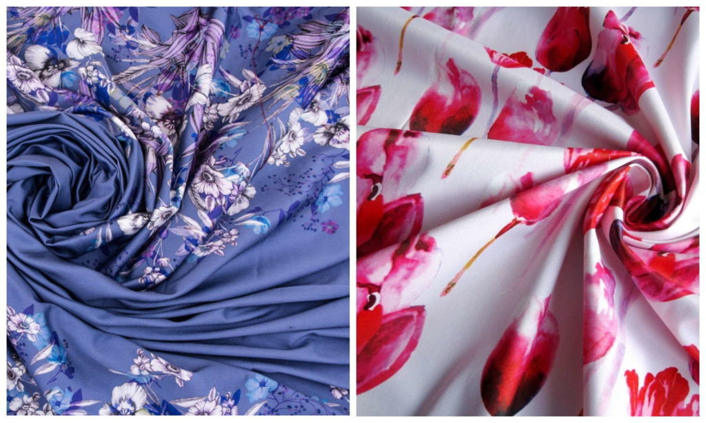 Ткань полисатин для постельного белья