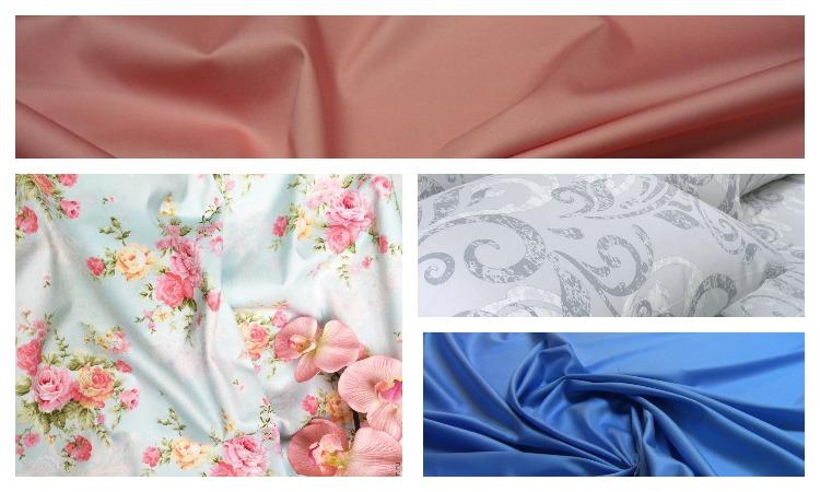 Виды ткани полисатин