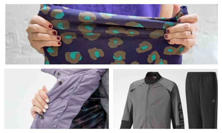 Одежда из ткани полиэстер