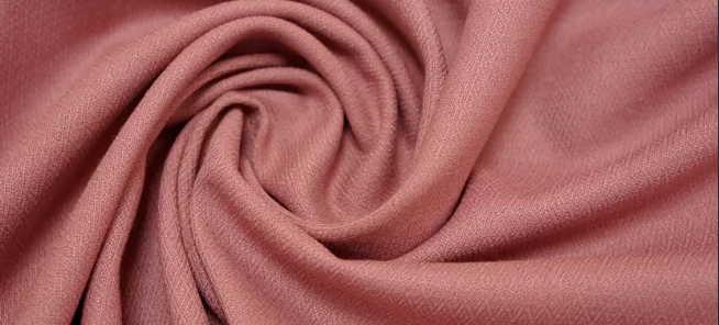 Ткань поливискоза коричневого цвета