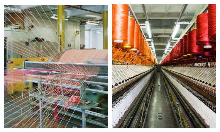 Производство ткани ПЭ