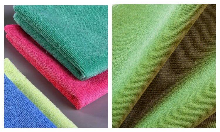 Ткань и полотенце из микрофибры