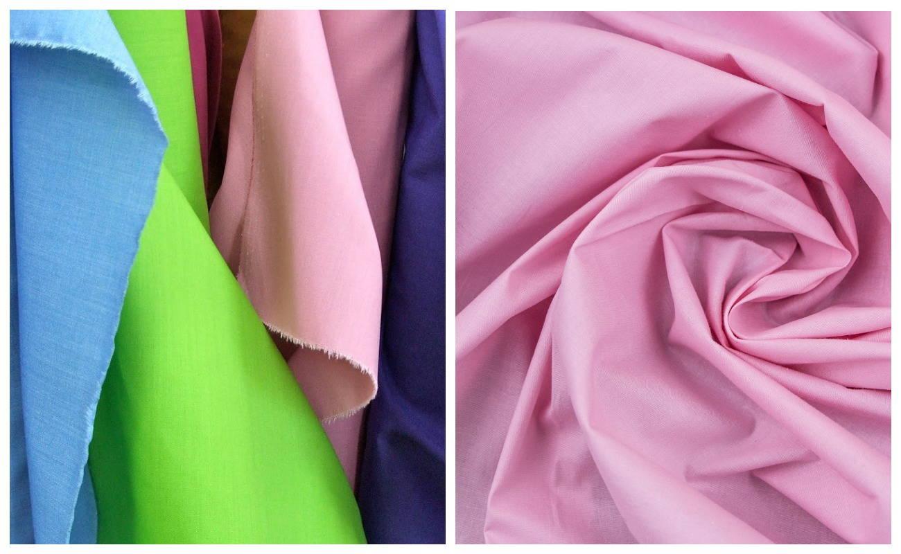 Ткань коттон (cotton) вблизи