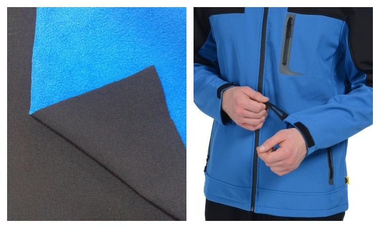 Рабочая одежда из ткани софтшелл