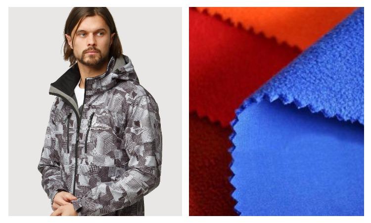 Мужская куртка из материала софтшелл