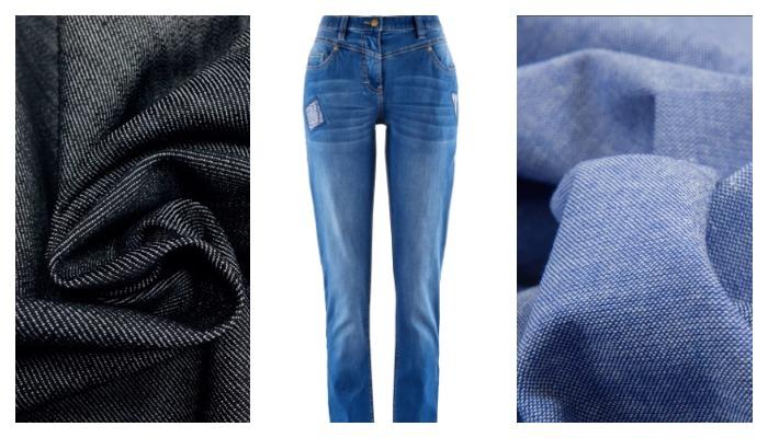 Виды джинсовой ткани по плотности
