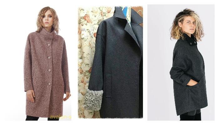 Виды пальто из ткани сукно