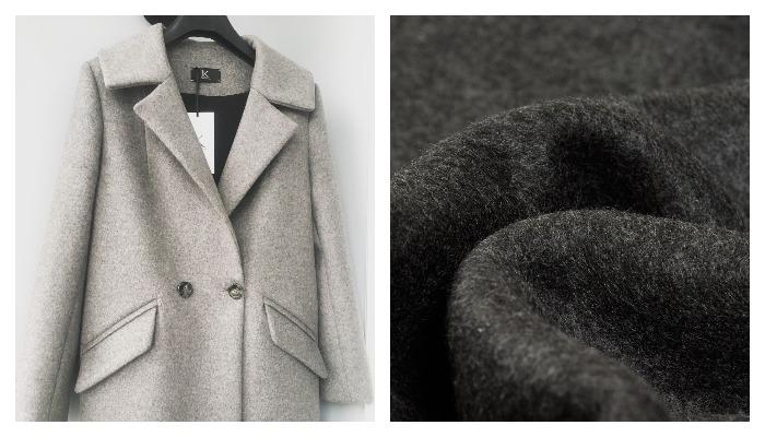 Пальто из ткани сукно