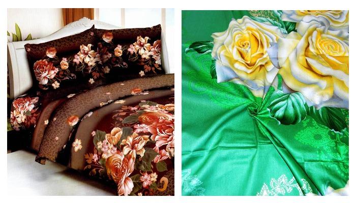 Ткань мако сатин и постельное белье