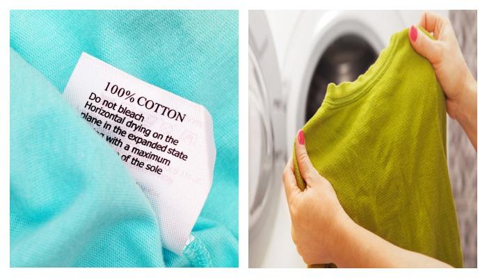Стирка хлопковых тканей в стиральной машине
