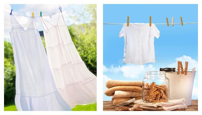 Белые вещи на солнце