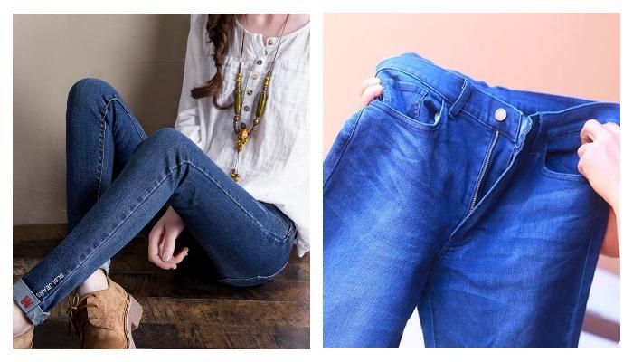 Красятся джинсы